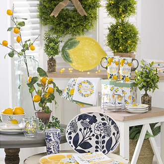 <p>Refreshing designs to brighten any room</p>